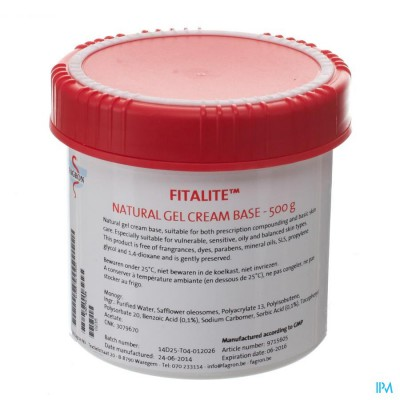 Fitalite Gel Cream 500g Fag
