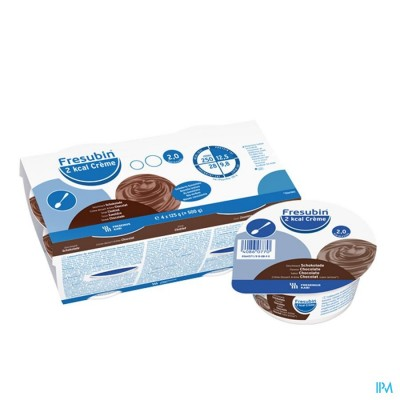 Fresubin 2 Kcal Crème 125g Chocolat/chocolade