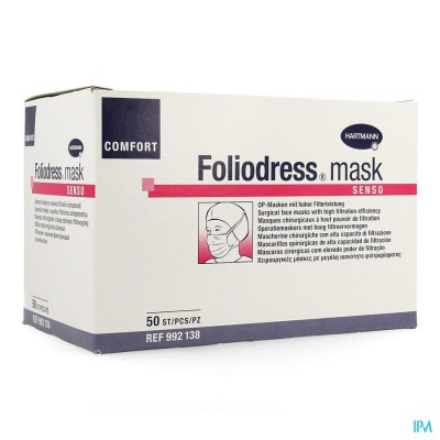 Foliodress Mask Senso Groen 50 P/s