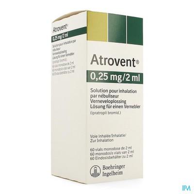 Atrovent Monodose 0,25mg/2ml Vials 60