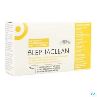 Blephaclean Reinigingsdoekjes Geimpreg.oogleden 20