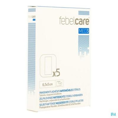 Febelcare Med3 Verb.zelfkl Ster.wtp 6,5x 5,0cm 5