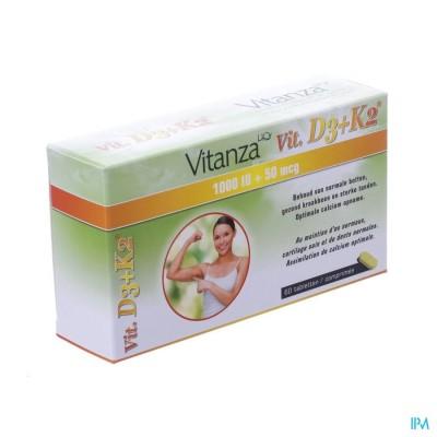 Vitanza Hq Vit D3 + K2 Tabl 60