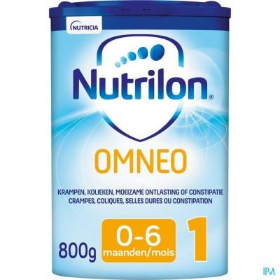 Nutrilon Omneo 1 Zuigelingenmelk constipatie en krampen 0-6 maanden poeder 800g