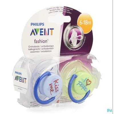 Philips  Avent Fopsp Fashion Dubbel 6-18m 2 SCF172/70