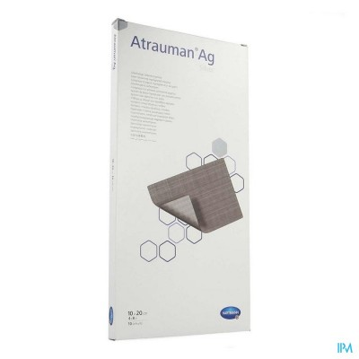 Atrauman Ag 10x20cm St. 10 P/s