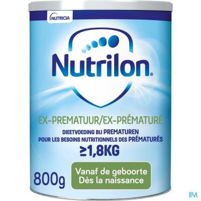 Nutrilon Ex-prematuur Zuigelingenmelk vanaf de geboorte poeder 800g