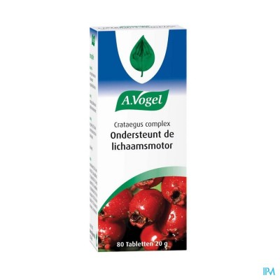 A.Vogel Crataegus Complex 80 tabletten