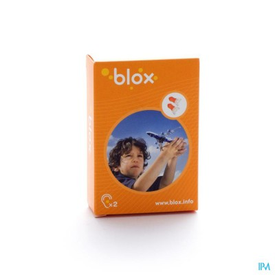 Blox Vliegtuig Kind A/druk Oordoppen 1 Paar