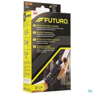 Futuro Deluxe Duimspalk 45843, Zwart Small/medium