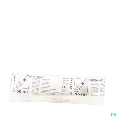 Bd Plastipak Spuit Z/nld Luer-lok 50-60ml 1 300865