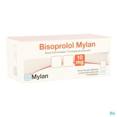 Bisoprolol Mylan 10mg Comp 100x10mg