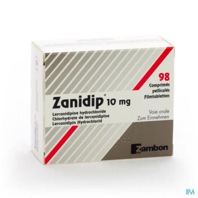Zanidip Comp 98 X 10mg