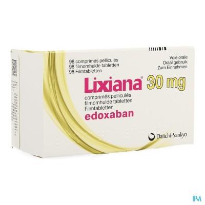 Lixiana 30mg Filmomh Tabl 98 X 30mg