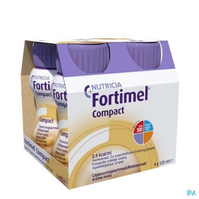 Fortimel Compact Mokka Flesjes 4x125 ml