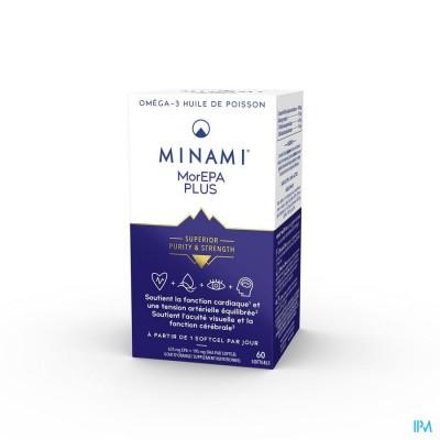 Minami Morepa Plus 2 Maand Dosis Softgels 60