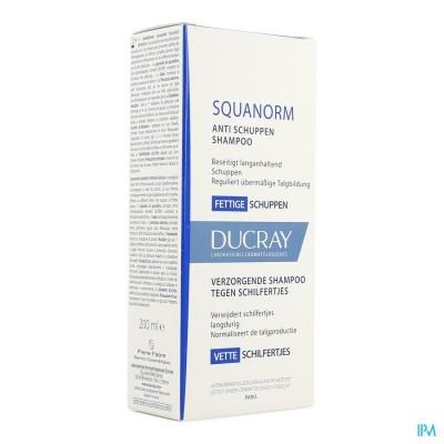 Ducray Squanorm Sh Vette Schilfers Nf 200ml