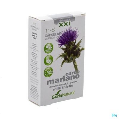 Soria 11-S Silybum marianum XXI 30 caps