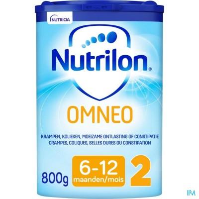 Nutrilon Omneo 2 Opvolgmelk constipatie en krampen baby 6-12 maanden poeder 800g