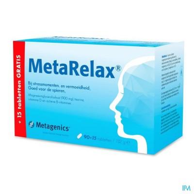 Metarelax Nf Tabl 90+15 22589 Metagenics