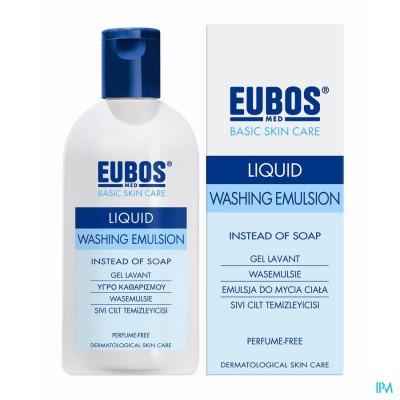 Eubos Zeep Vloeibaar Blauw N/parf 200ml