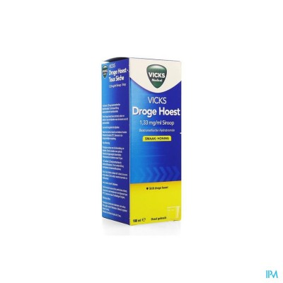 Vicks Vaposyrup Antitussif Honing 180ml