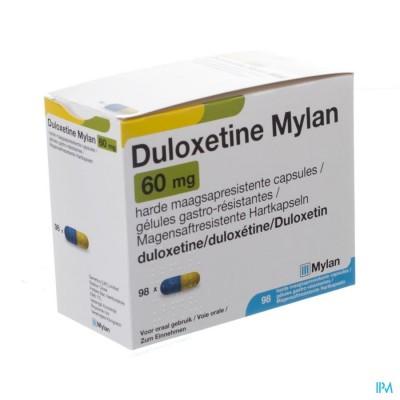 Duloxetine Mylan Maagsapresist Caps 98 X 60mg