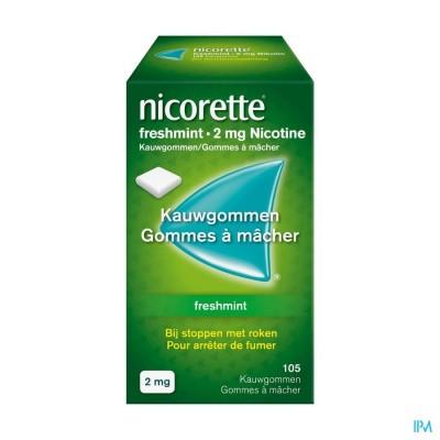 Nicorette Freshmint Kauwgom 105x2mg