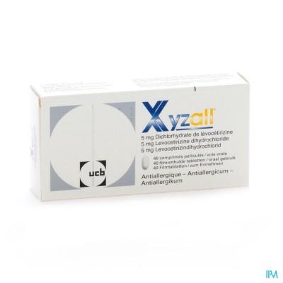 Xyzall Comp Pel 40 X 5mg