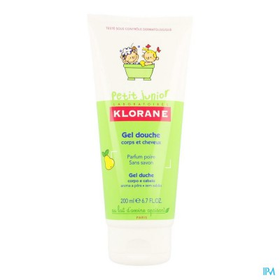Klorane Petit Junior Douche Gel Peer 200ml