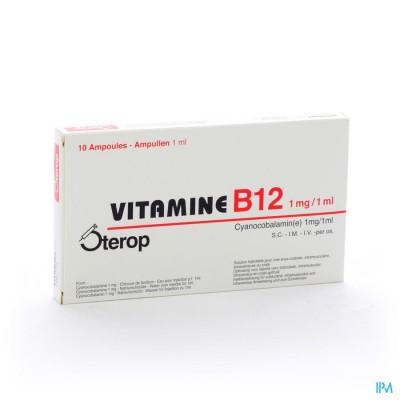 Vit B12 Sc/im/iv Amp 10 X 1mg/1ml