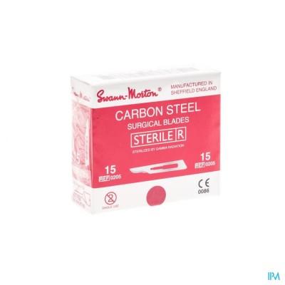 Scalpel S.m Mesje Steriel N15 1 Wm