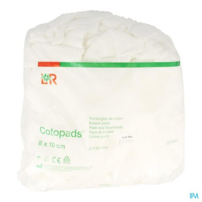 Cotopads Katoen 8x10cm 200 39841