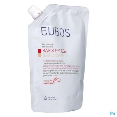 Eubos Zeep Vloeibaar Roze Refill 400ml